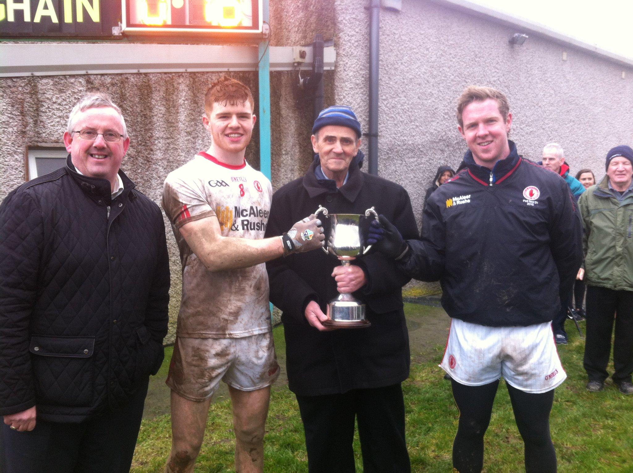 Under 21s claim back to back Shamrock Cups