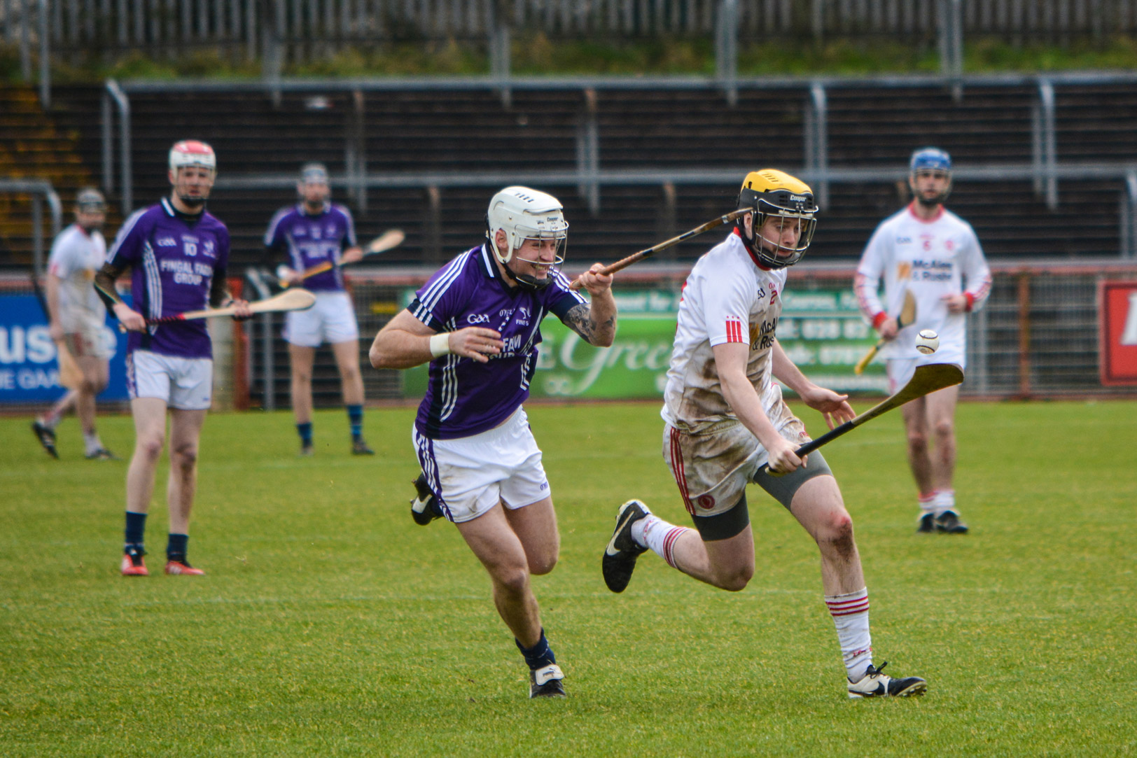 Hurlers fall to Fingal after late goal