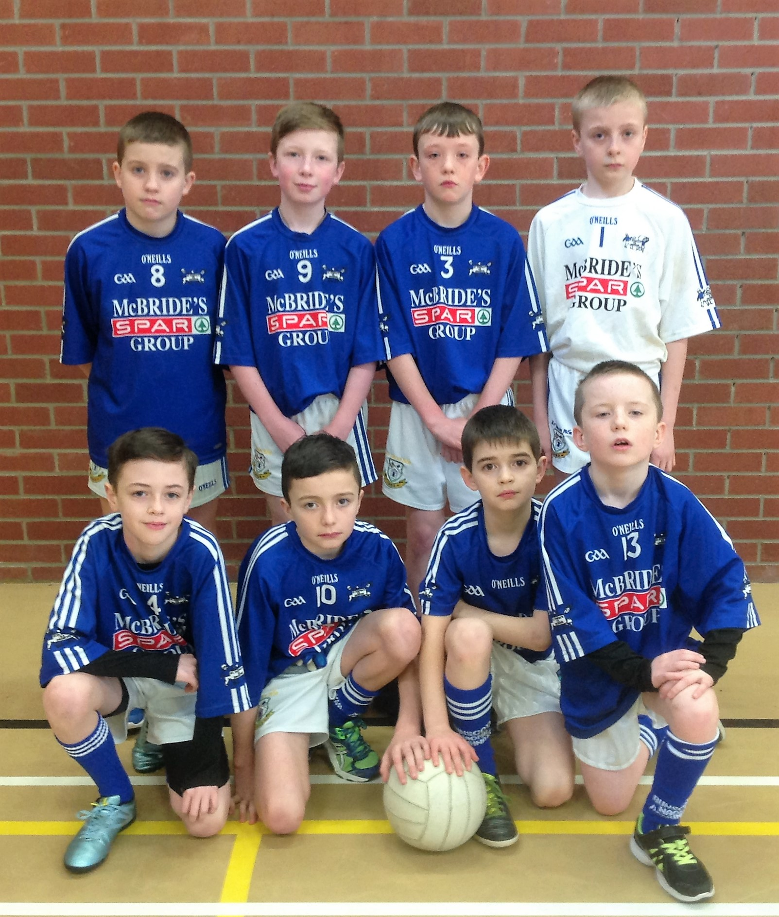 ALLIANZ Cumann na mBunscol – BOYS' INDOOR FOOTBALL HEAT 3: OMAGH