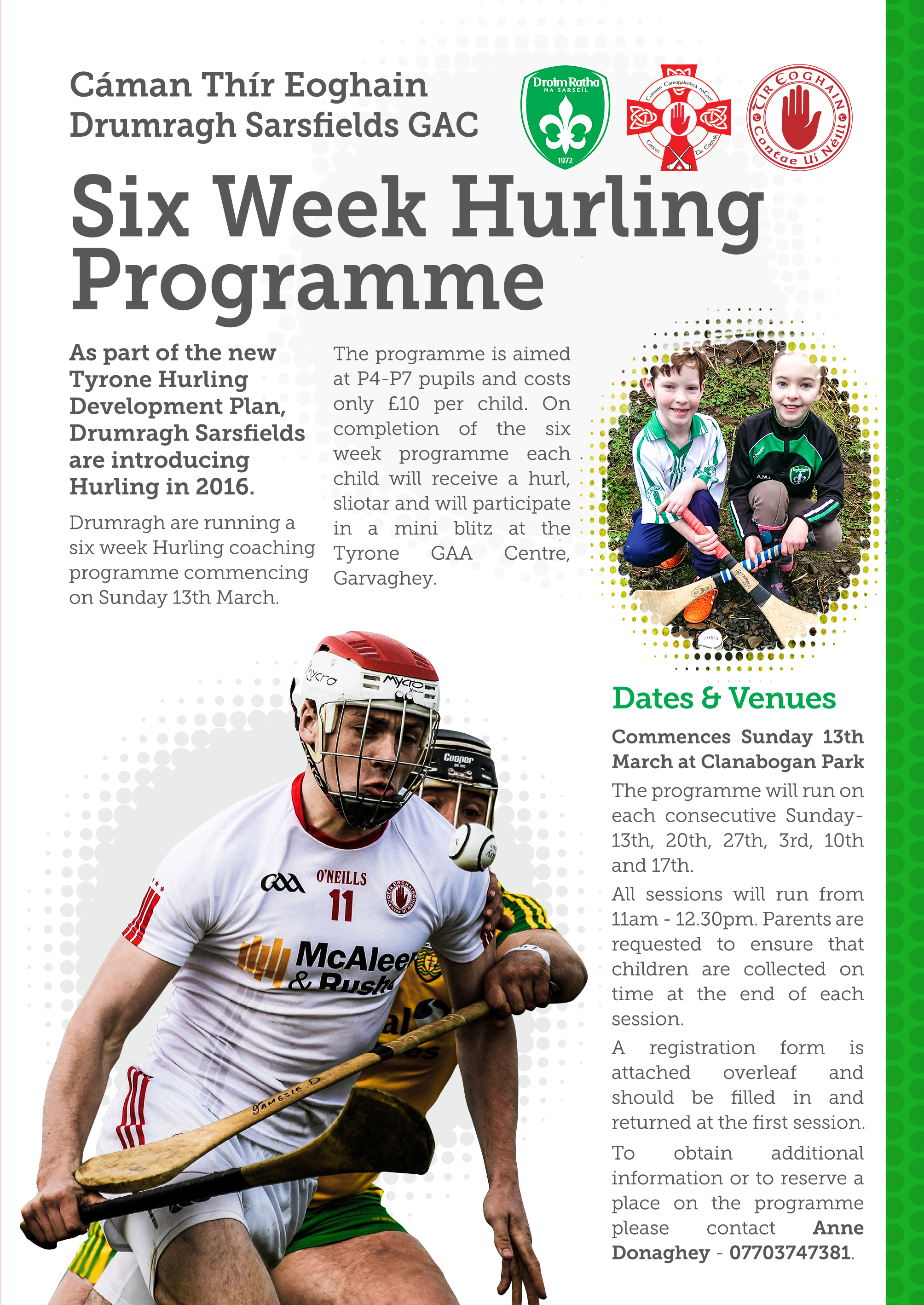 Hurling at Drumragh