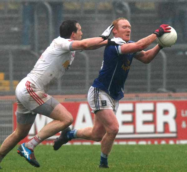 ALLIANZ FOOTBALL LEAGUE DIVISION II: TYRONE 0-10 CAVAN 0-8