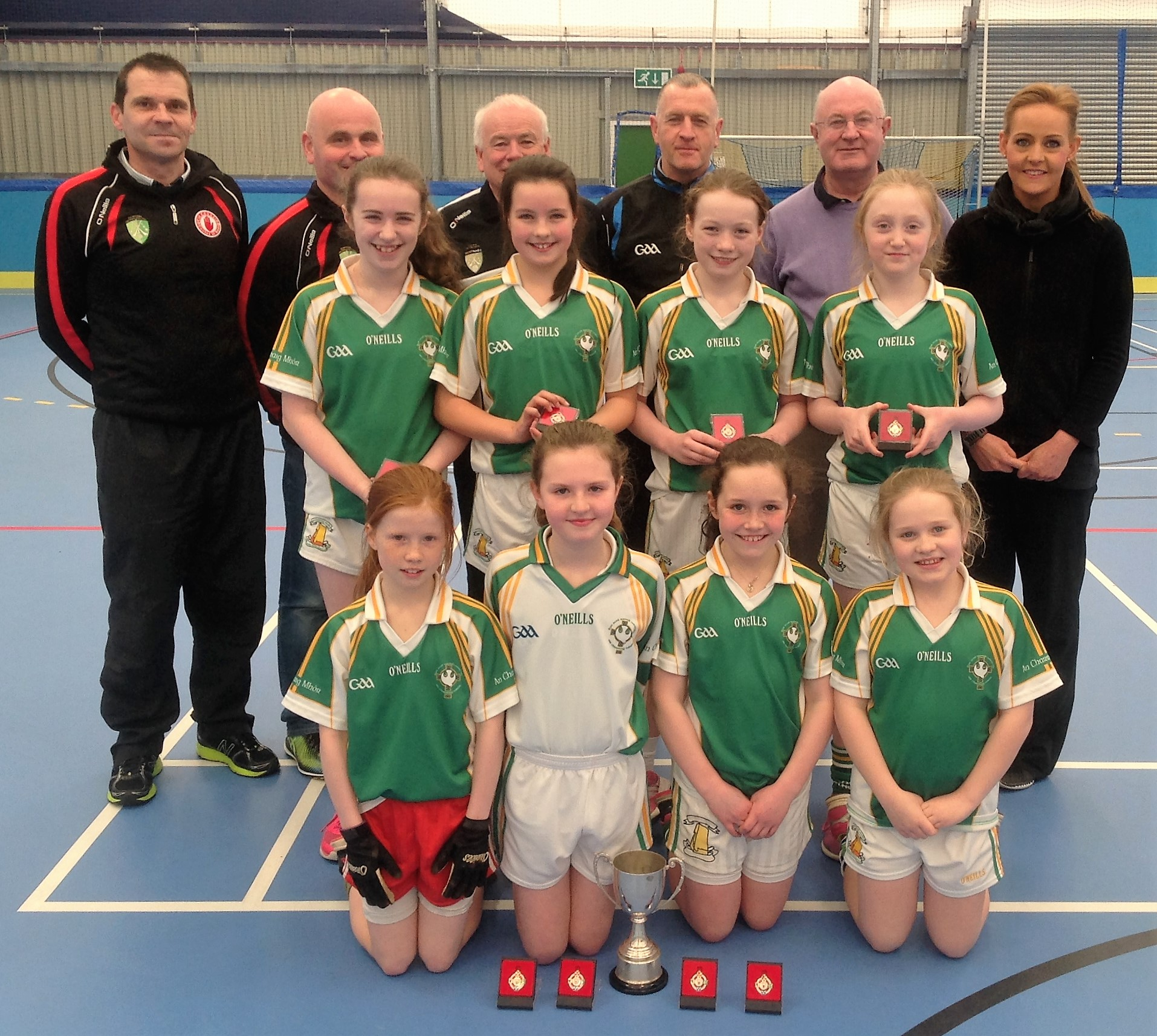 ALLIANZ CUMANN Na mBUNSCOL –  GIRLS' INDOOR FOOTBALL: Tyrone Final 2016