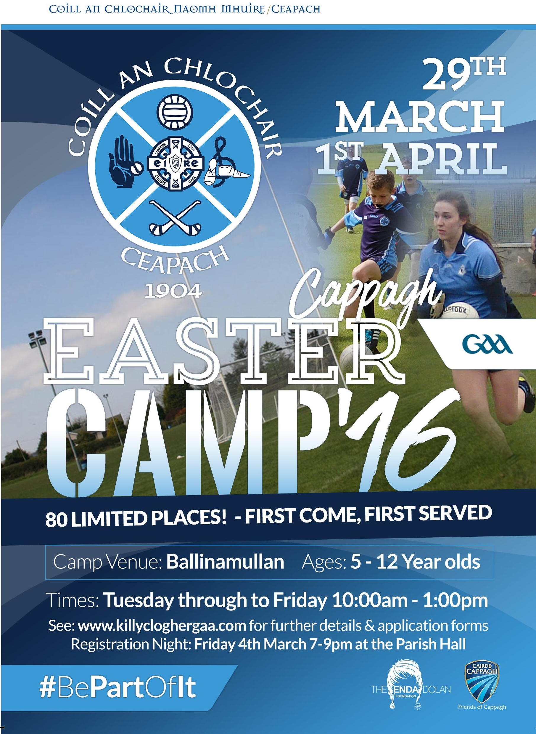Cappagh Easter Camp 2016