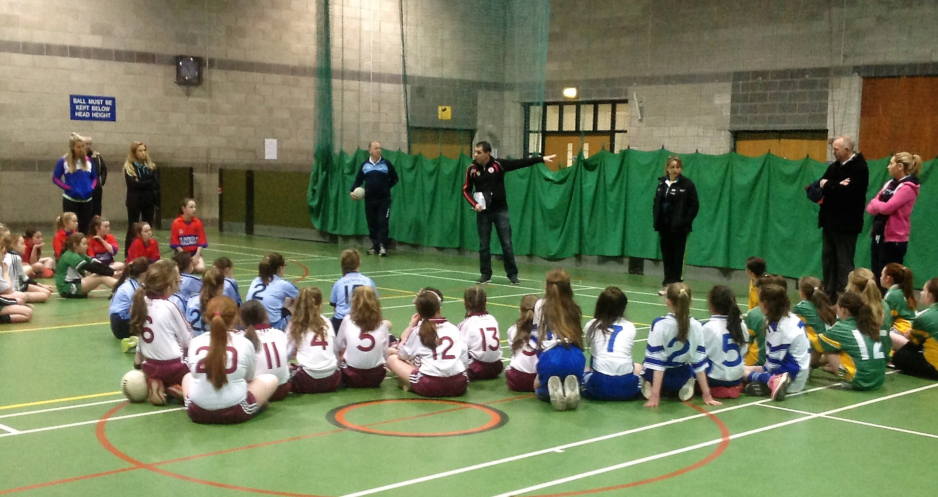 ALLIANZ CUMANN Na mBUNSCOL – GIRLS' INDOOR FOOTBALL HEAT 6: Cookstown