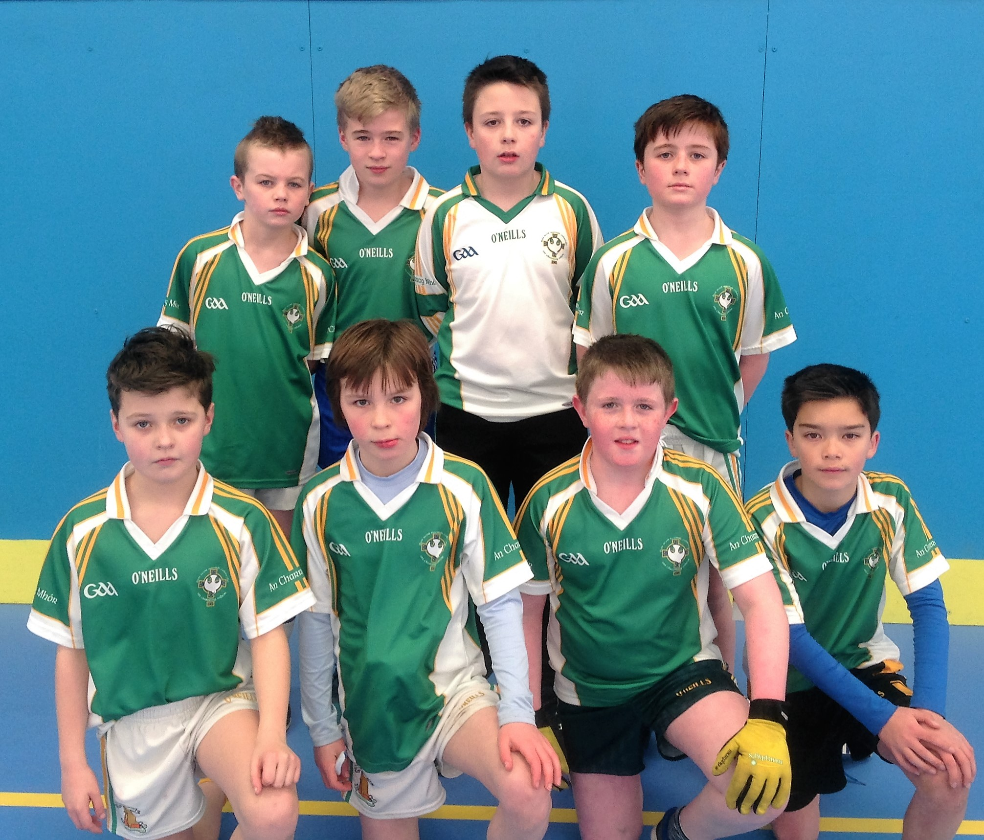 ALLIANZ CUMANN Na mBUNSCOL – BOYS' INDOOR FOOTBALL Tyrone Final 2016