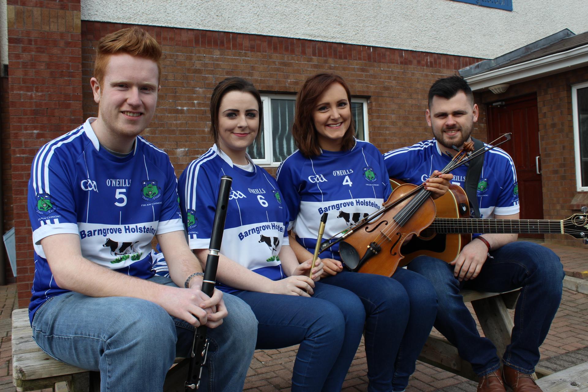 Comhghairdeas Derrytresk, All Ireland Scór Sinsear Ceol Uirlise Champions!