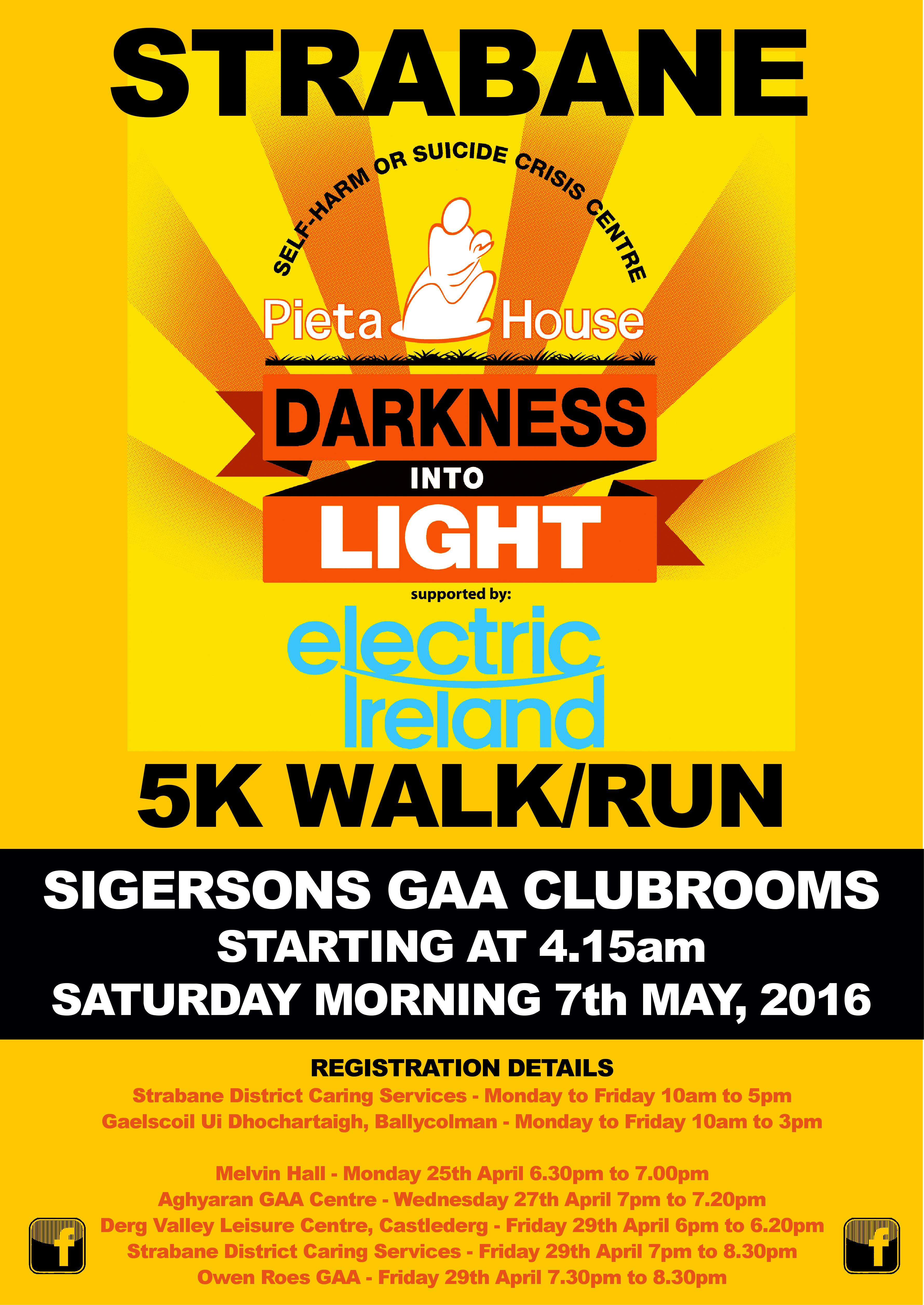 Strabane Sigerson's Darkness Into Light