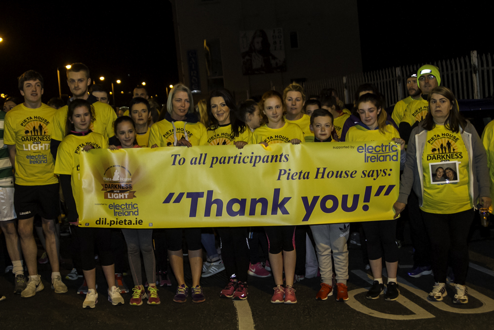 "Strabane Sigersons GAA bring ""Darkness into Light"" with Suicide awareness walk"