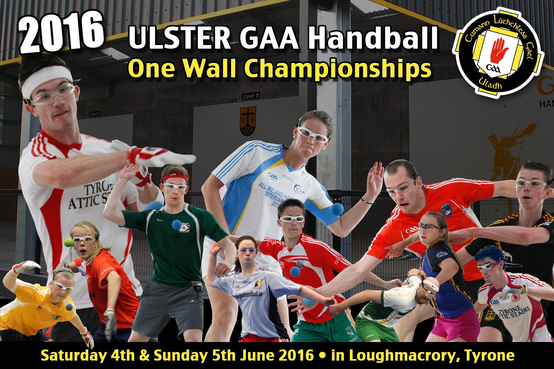 2016 Ulster GAA Handball One Wall Handball championships