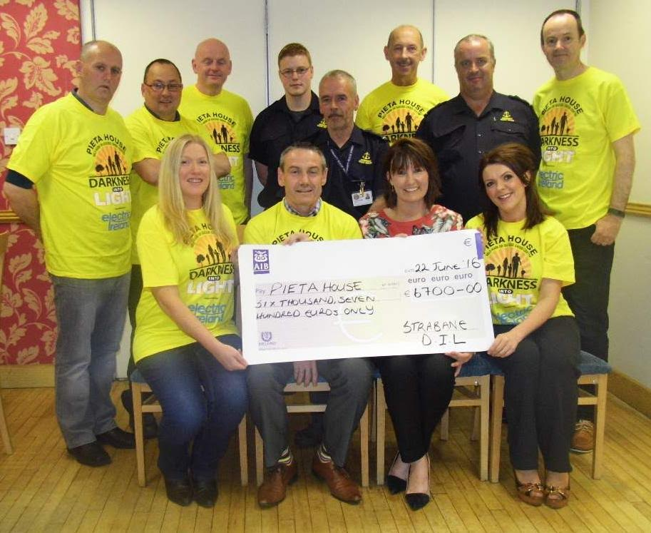 Strabane Darkness into Light presentation