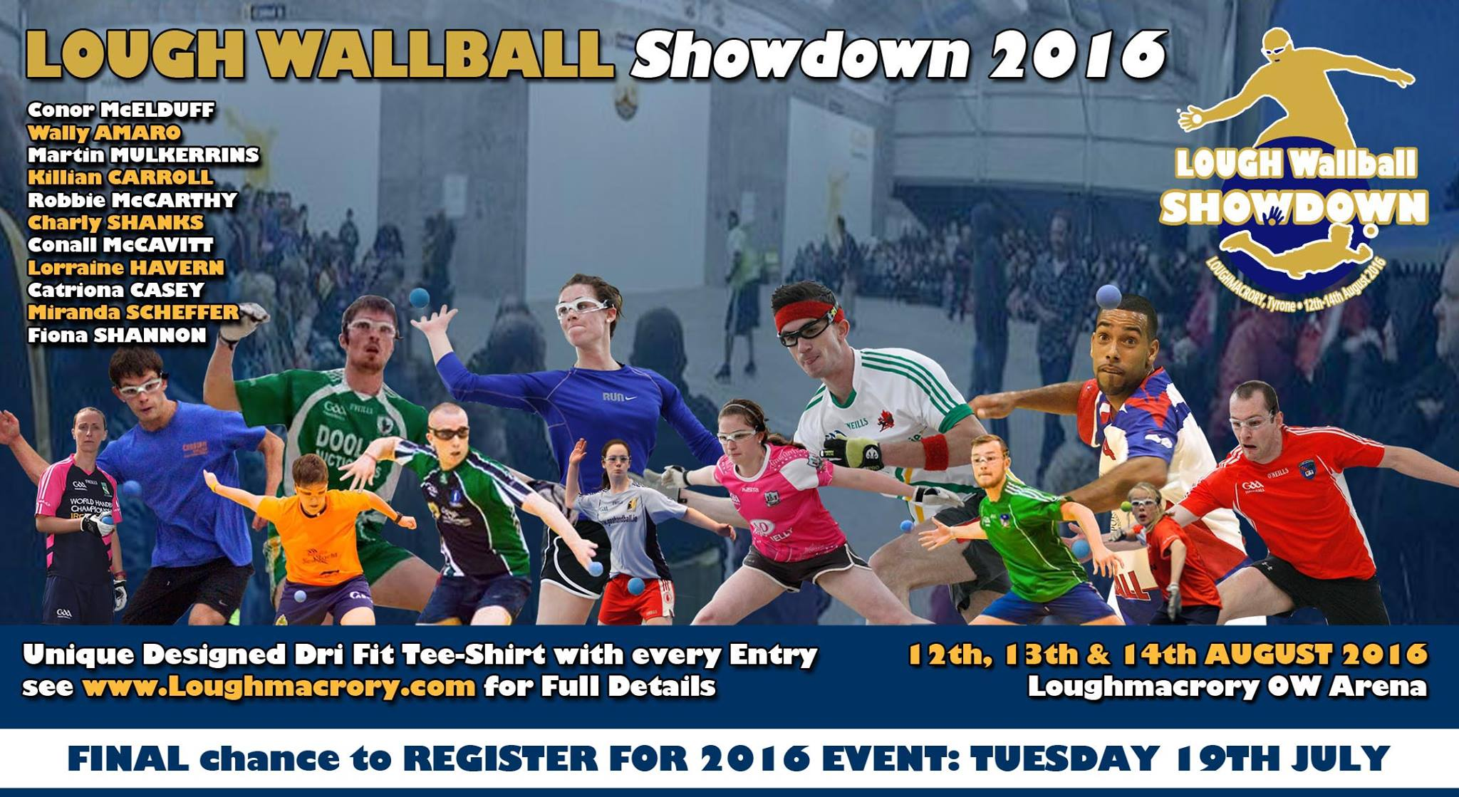 Loughmacrory WALLBALL Showdown 2016 – Final Entry Deadline