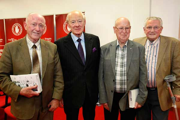 The 1947/48 Minors and 56/57 Seniors honoured on 60th Anniversary of Tyrone's first Ulster Senior Football Title