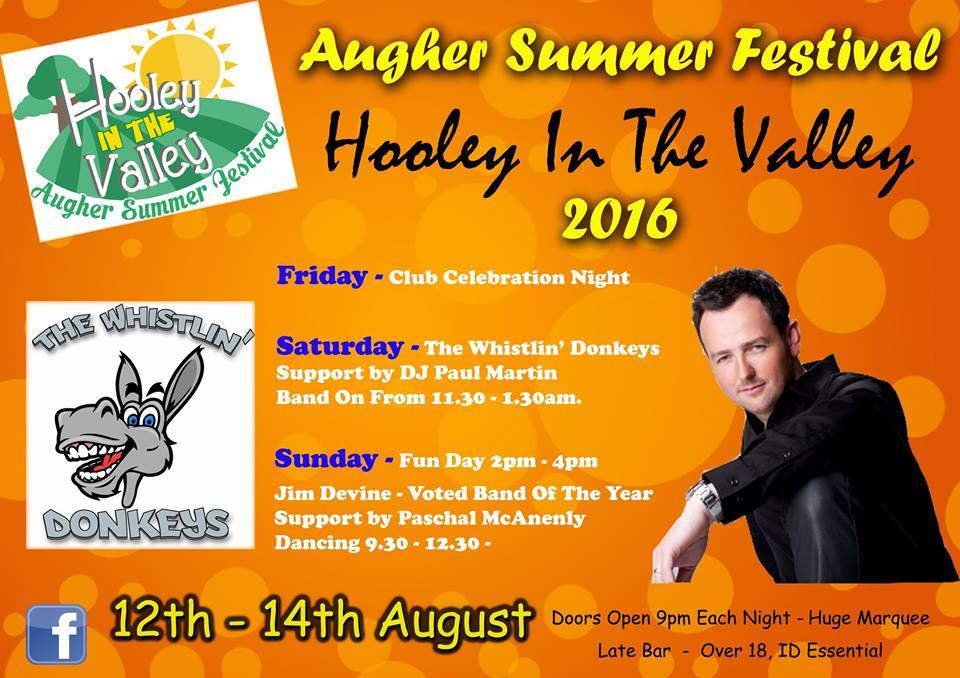 Augher's Hooley in the Valley this weekend