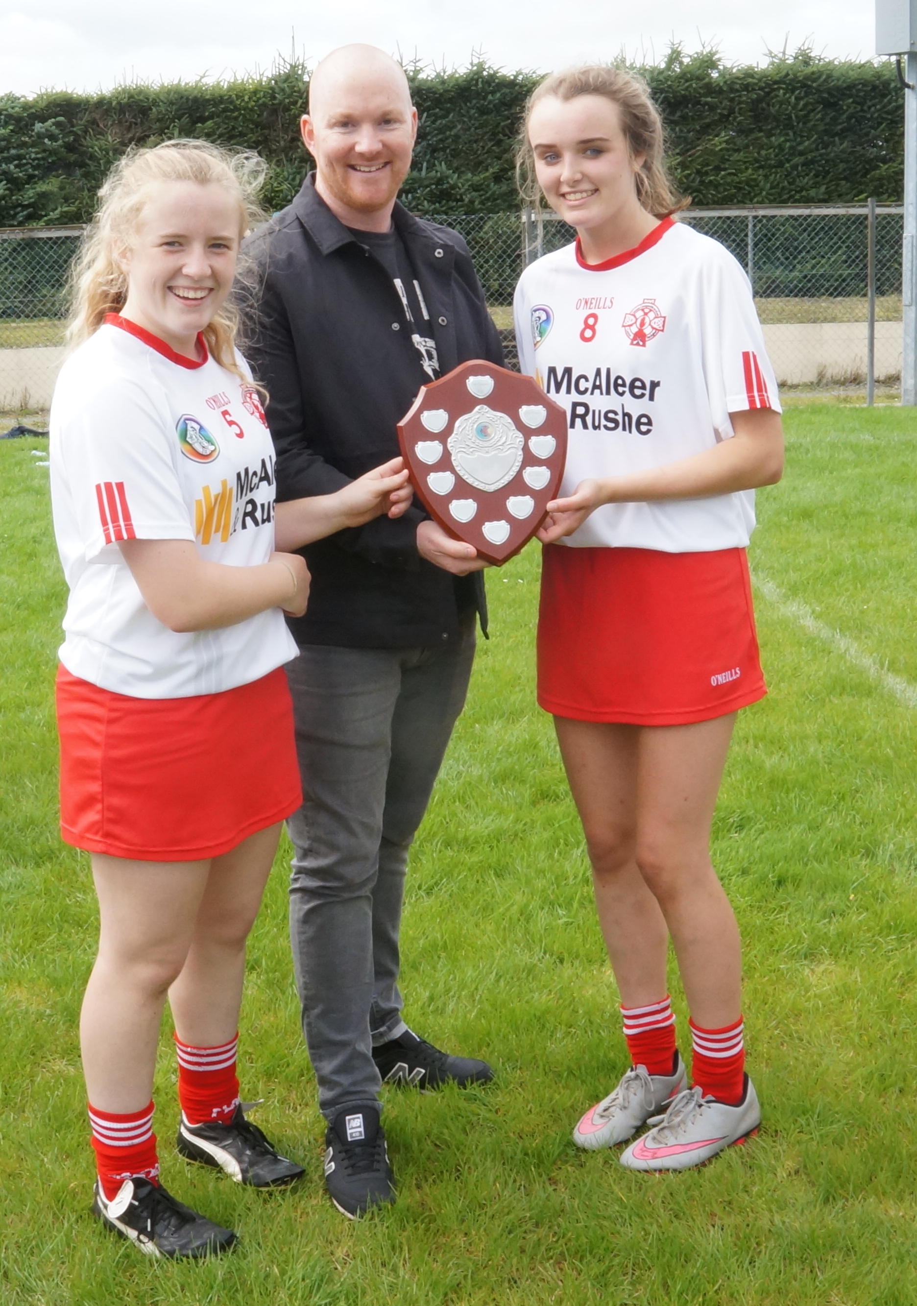 Tyrone under 16s claim Ulster shield title