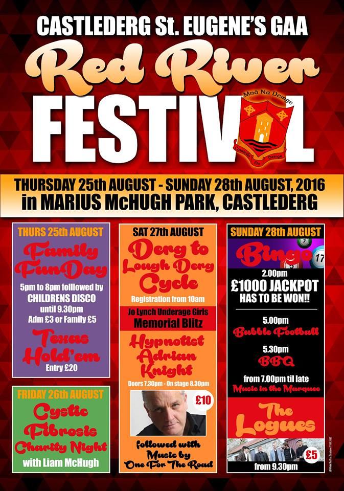 Castlederg St Eugene's Red River Festival