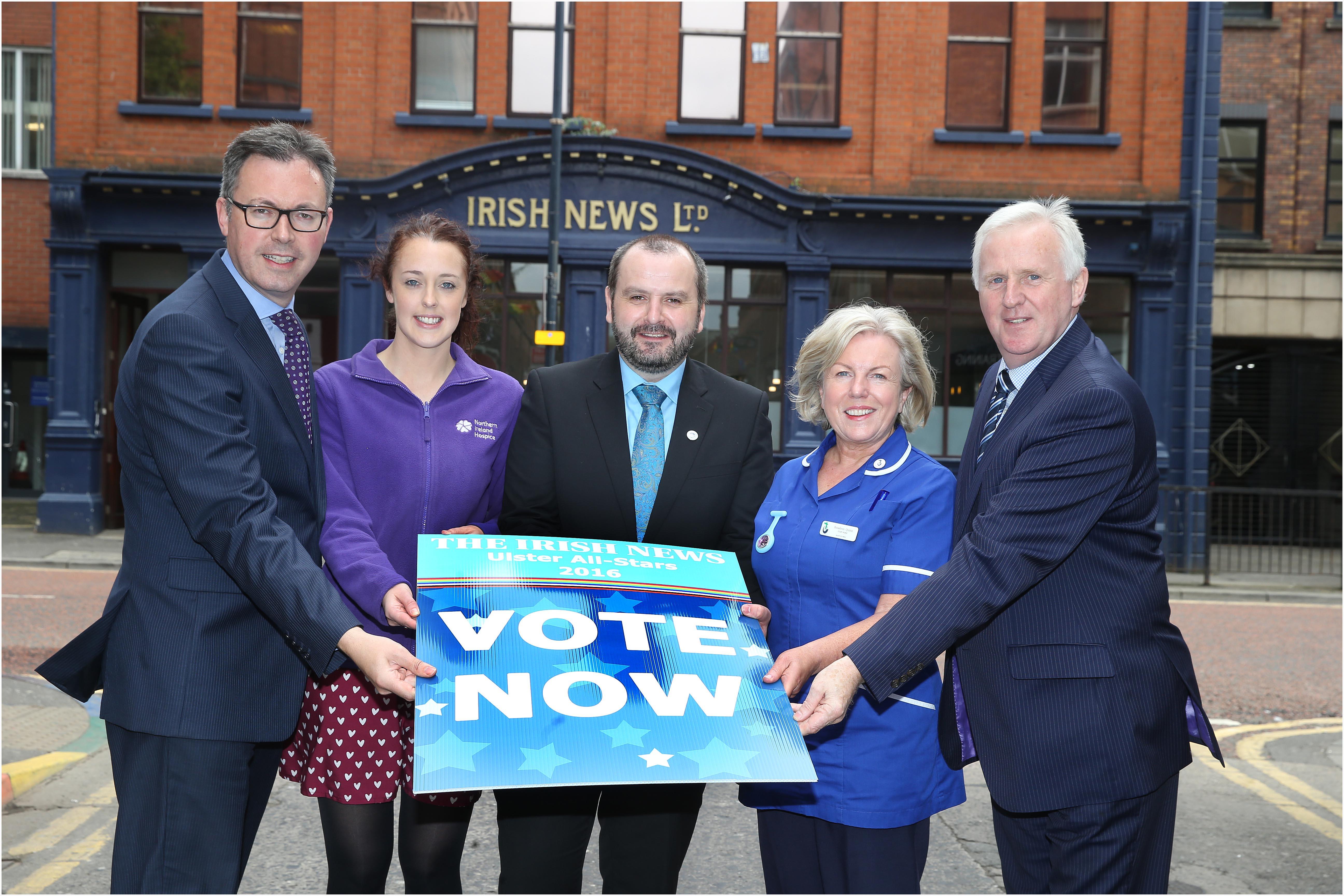 Irish News Ulster All-Stars 2016 Charity Partnership