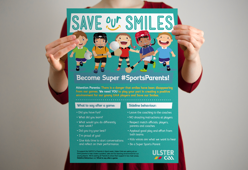 Save our Smiles – Parent in Sport Week