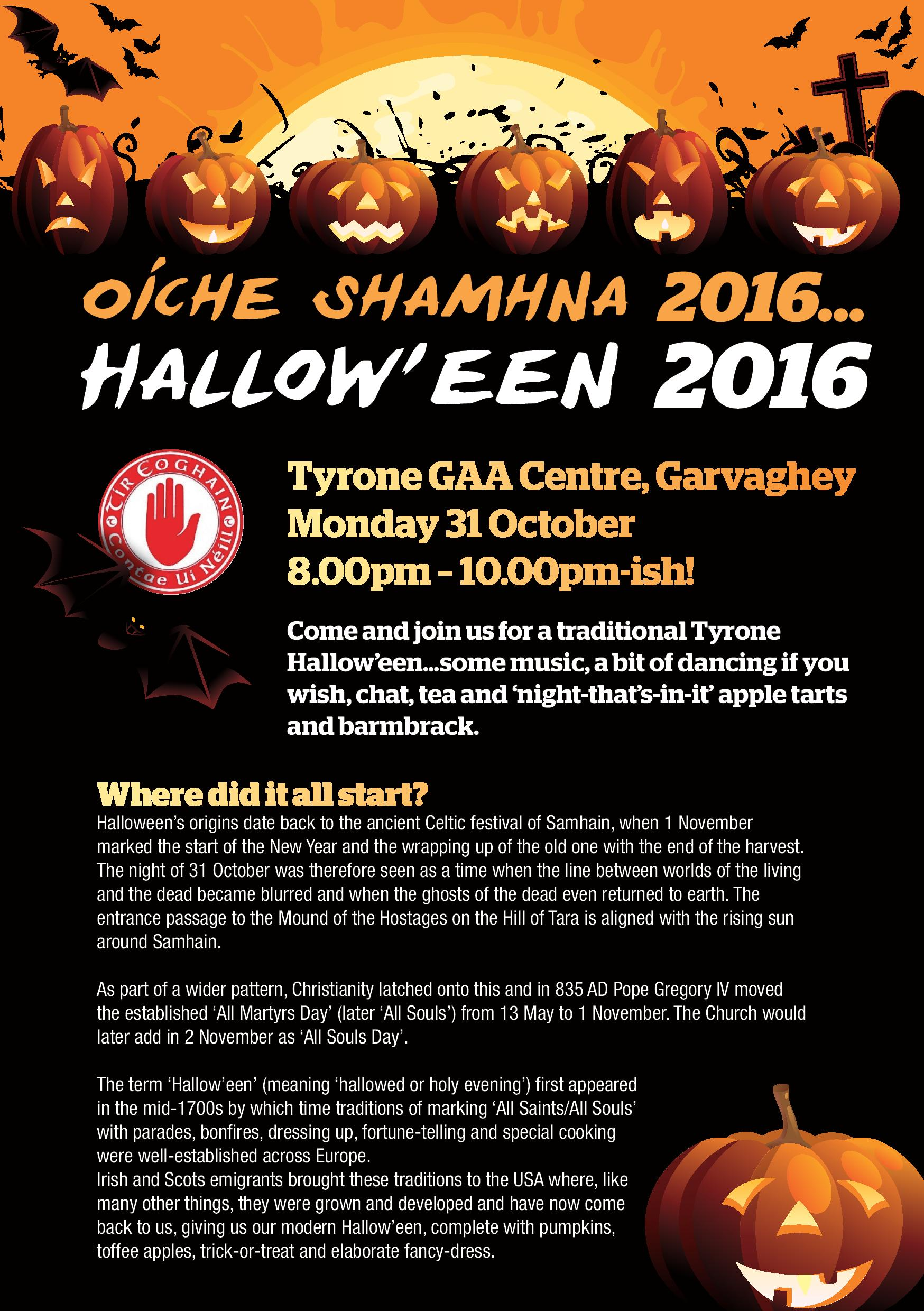 Hallow'een in Tyrone