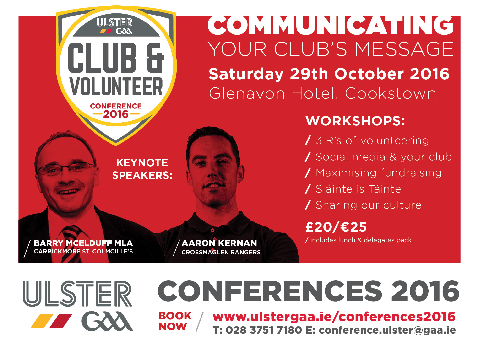 Ulster GAA's Club & Volunteer Conference 2016