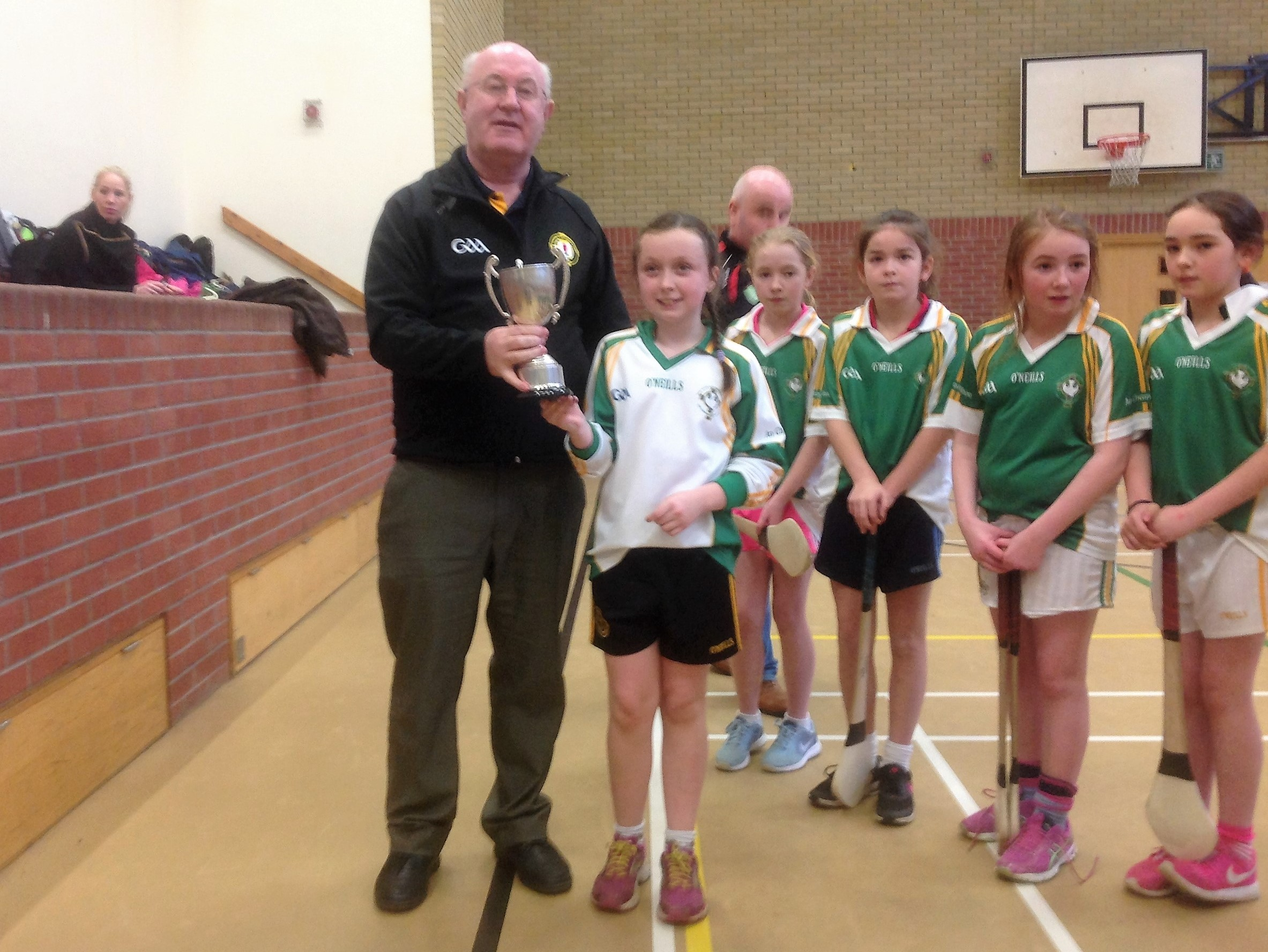 Allianz Cumann na mBunscol – Indoor Camogie: TYRONE FINAL 2017