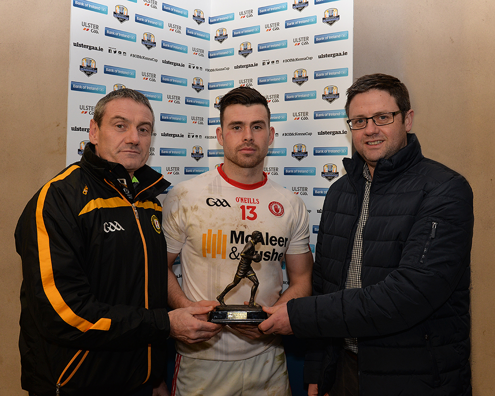 Tyrone qualify for BOI McKenna Cup Semi Final
