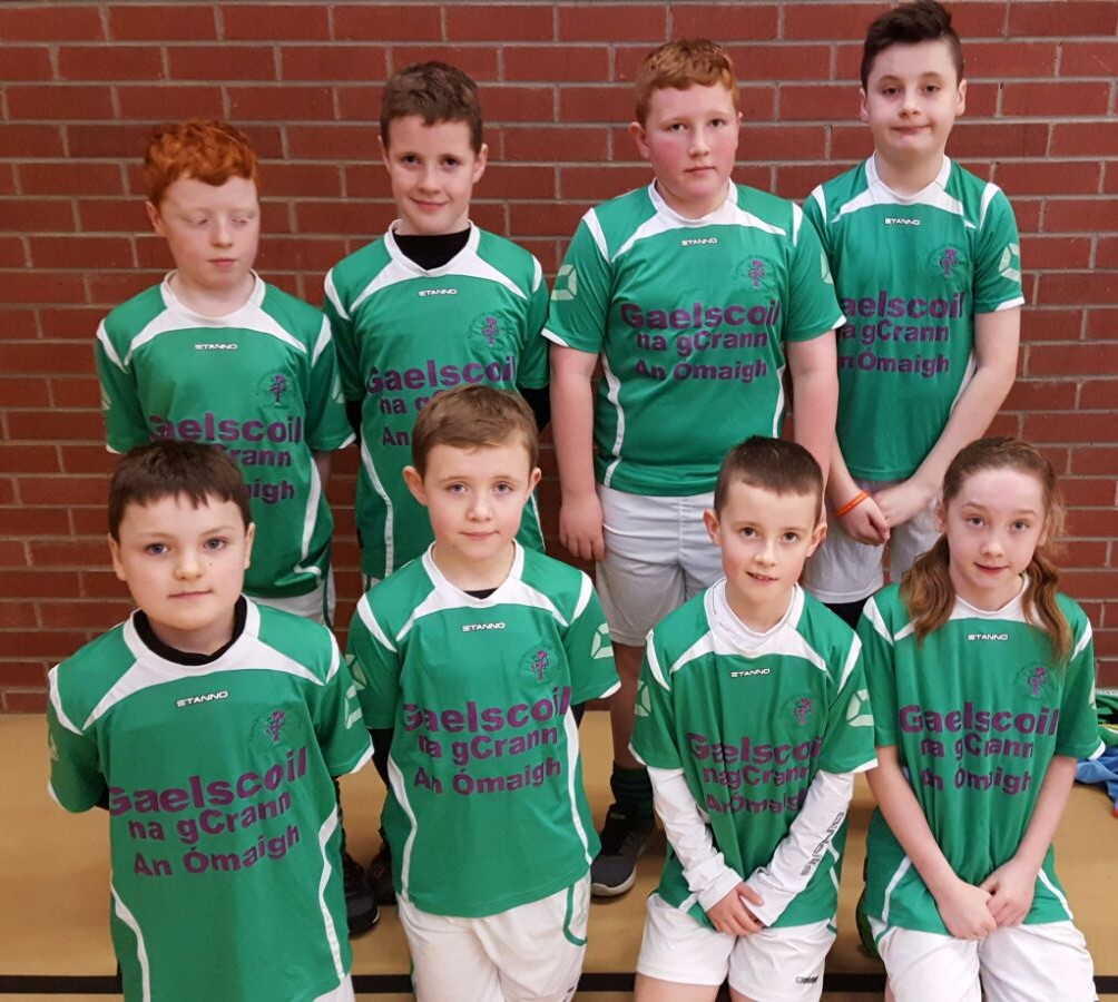 ALLIANZ CUMANN na mBUNSCOL – 'Indoor Hurling & Camogie' Heat 1: OMAGH