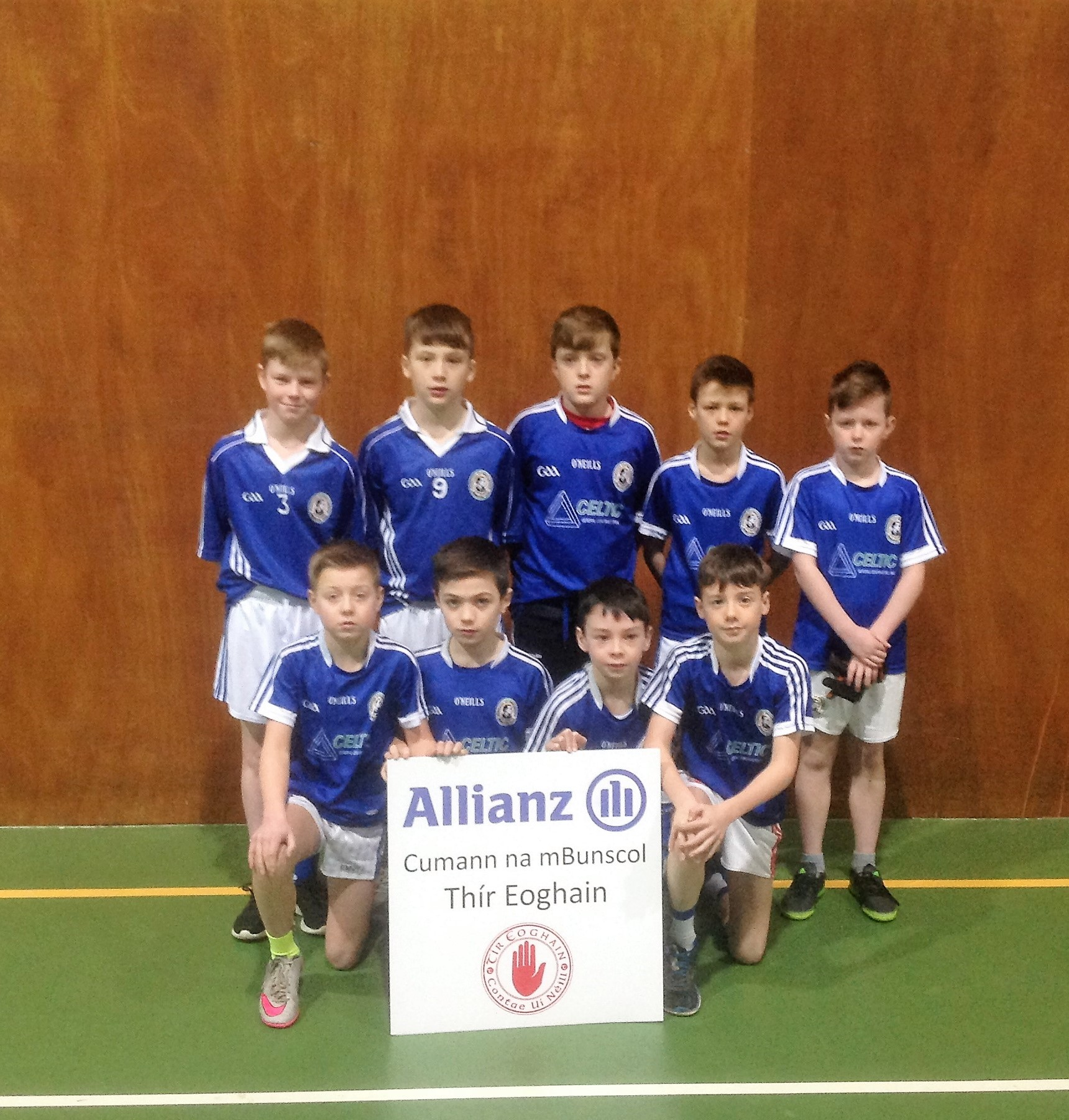 ALLIANZ Cumann na mBunscol – BOYS' INDOOR FOOTBALL HEAT 1: Cookstown