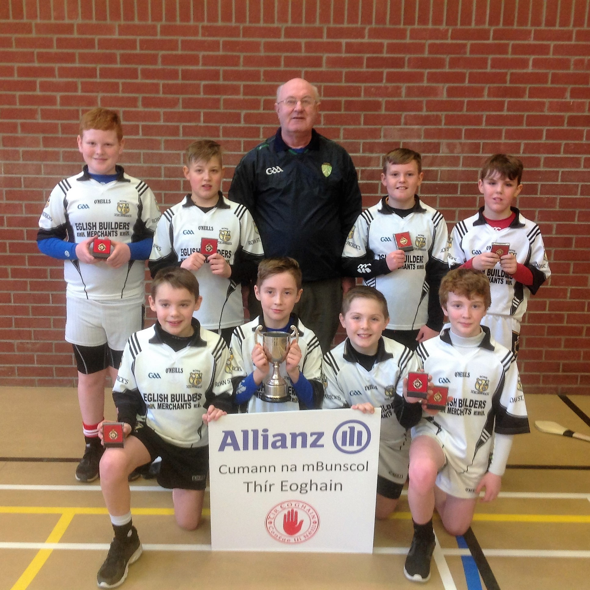 Allianz Cumann na mBunscol – Indoor Hurling: Tyrone Final 2017