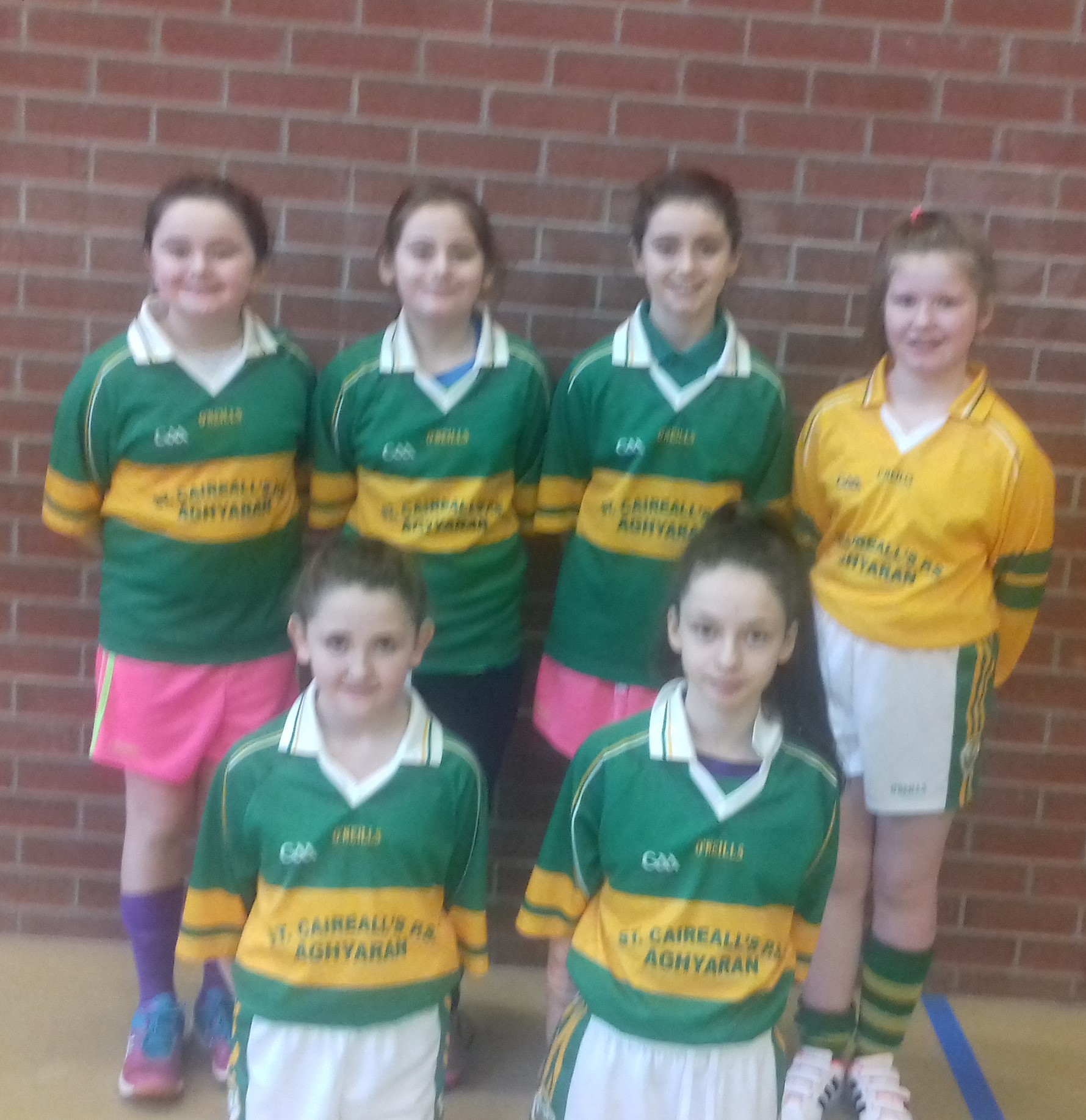 ALLIANZ CUMANN Na mBUNSCOL – GIRLS' INDOOR FOOTBALL HEAT 1: OMAGH