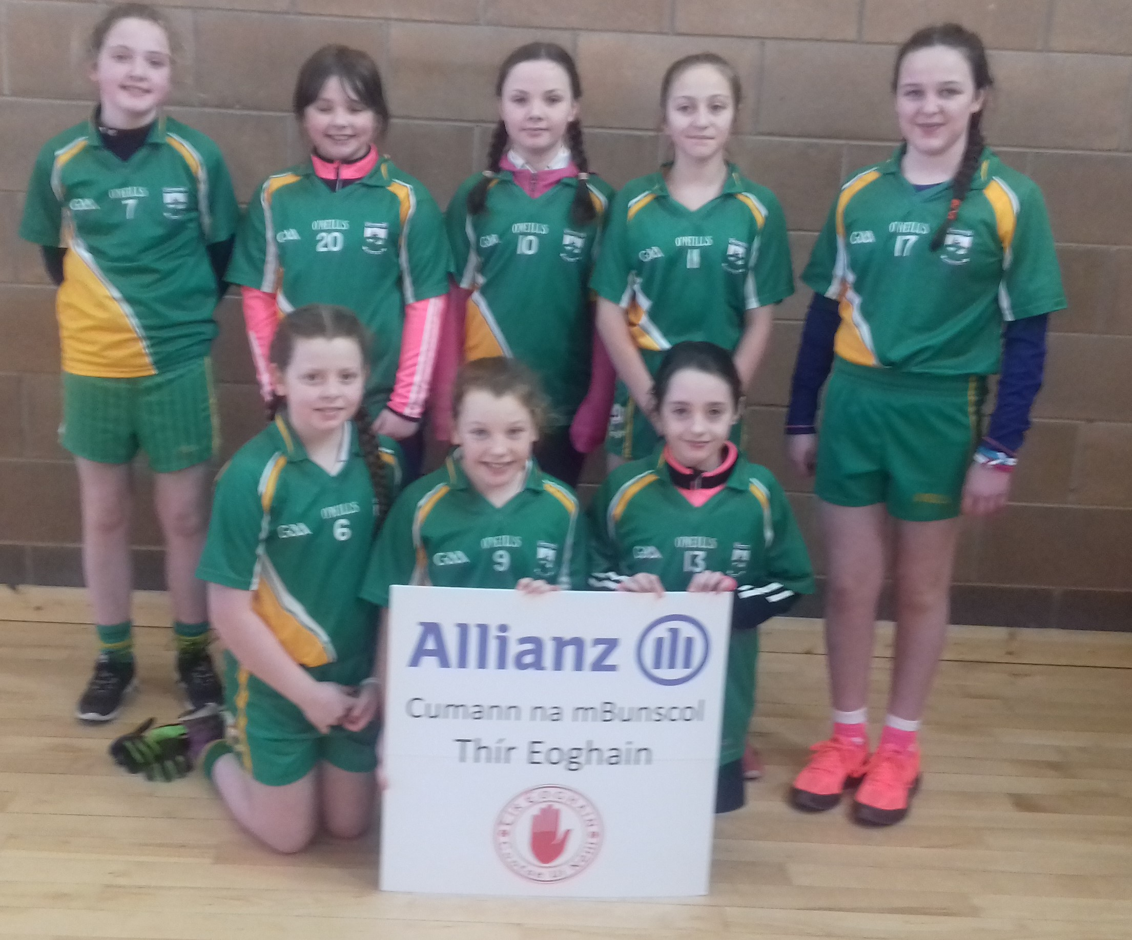 ALLIANZ CUMANN Na mBUNSCOL – GIRLS' INDOOR FOOTBALL HEAT 4: CLONOE