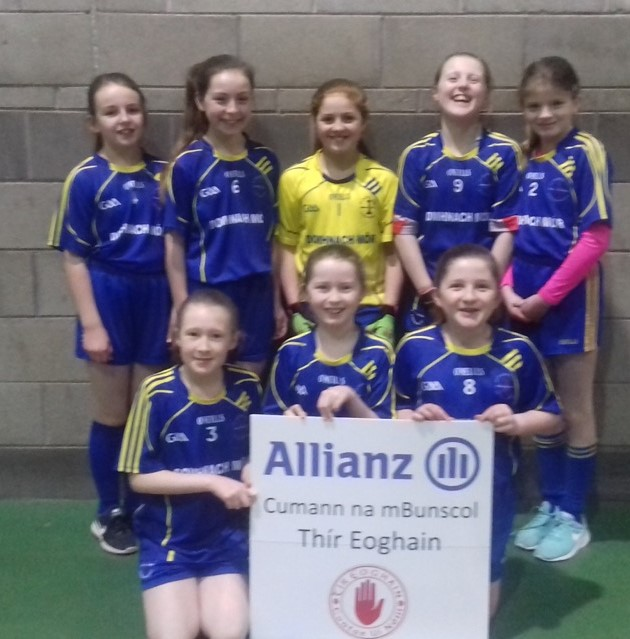ALLIANZ CUMANN Na mBUNSCOL – GIRLS' INDOOR FOOTBALL HEAT 2: Cookstown