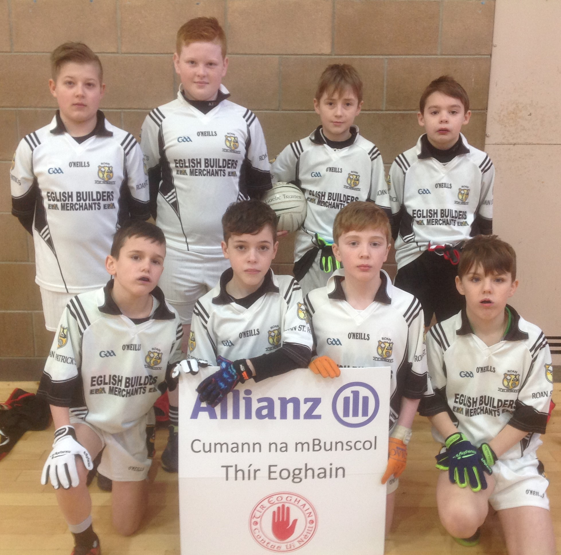 ALLIANZ CUMANN Na mBUNSCOL – BOYS' INDOOR FOOTBALL HEAT 5: CLONOE