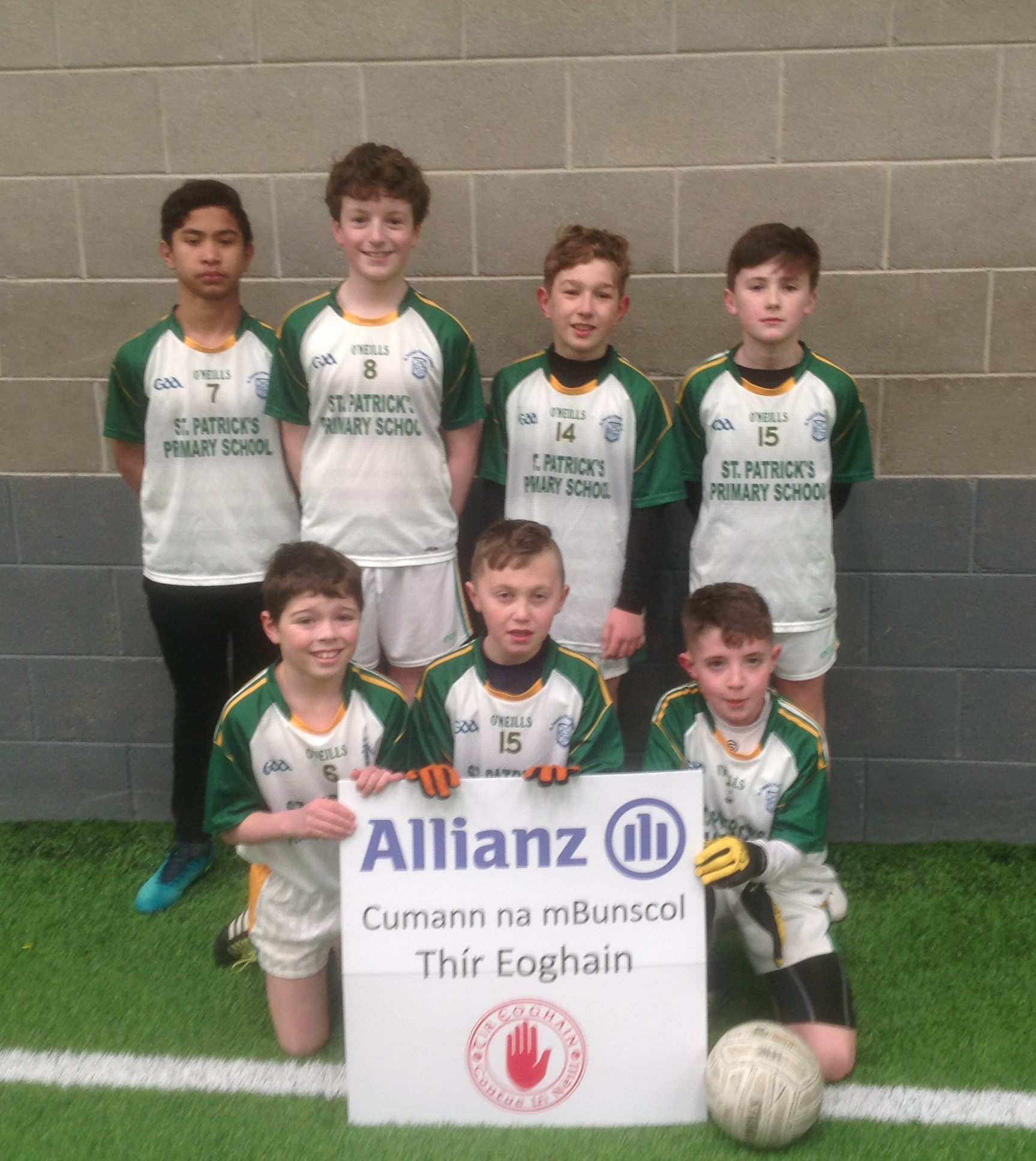 ALLIANZ Cumann na mBunscol – Boys' INDOOR FOOTBALL Heat 6: LOUGHVIEW