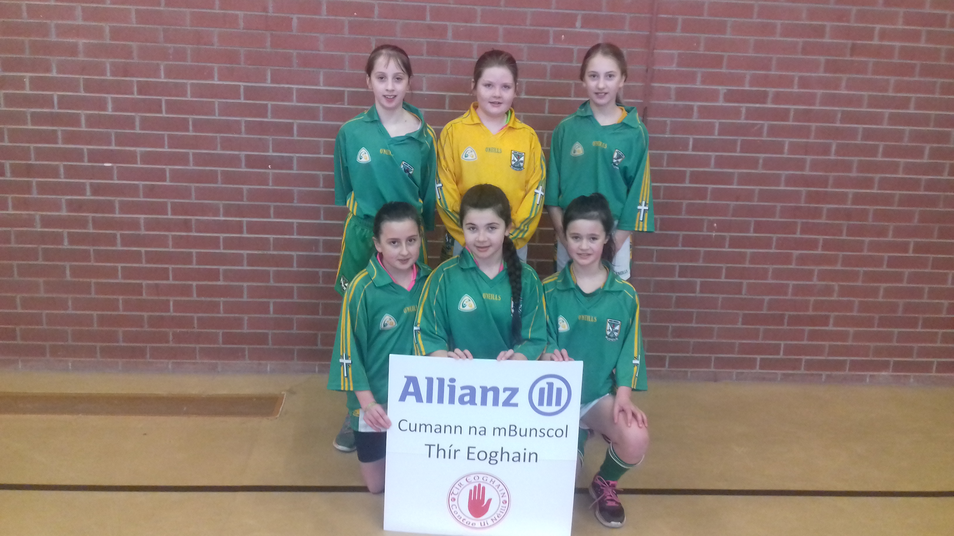 ALLIANZ CUMANN Na mBUNSCOL – GIRLS' INDOOR FOOTBALL HEAT 3: Omagh