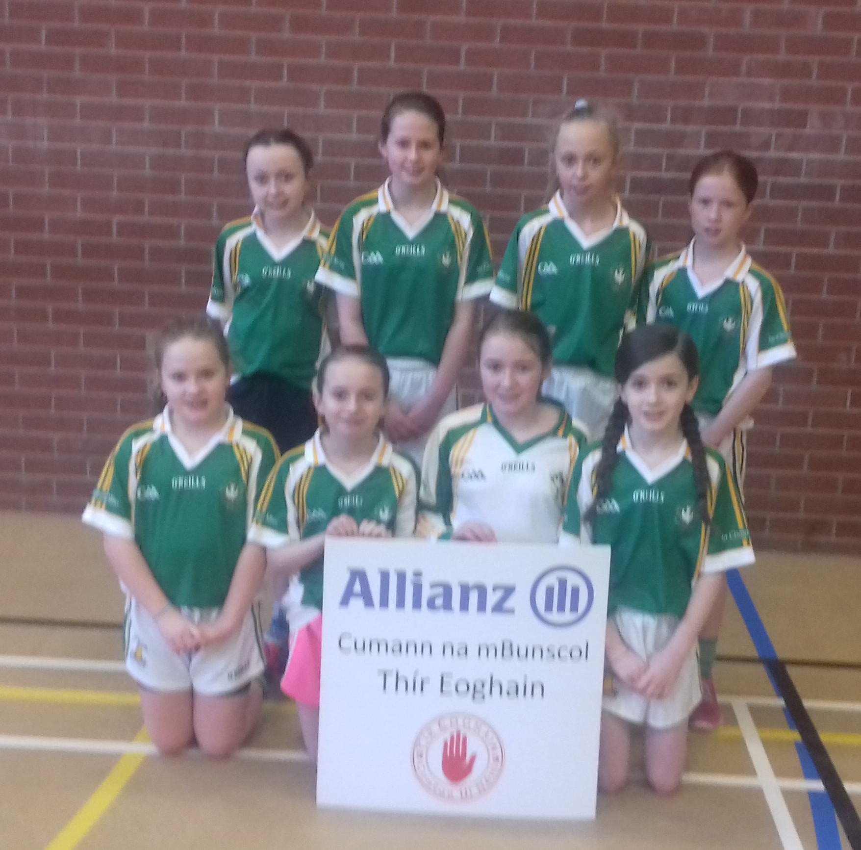 ALLIANZ CUMANN Na mBUNSCOL – GIRLS' INDOOR FOOTBALL HEAT 5: Omagh