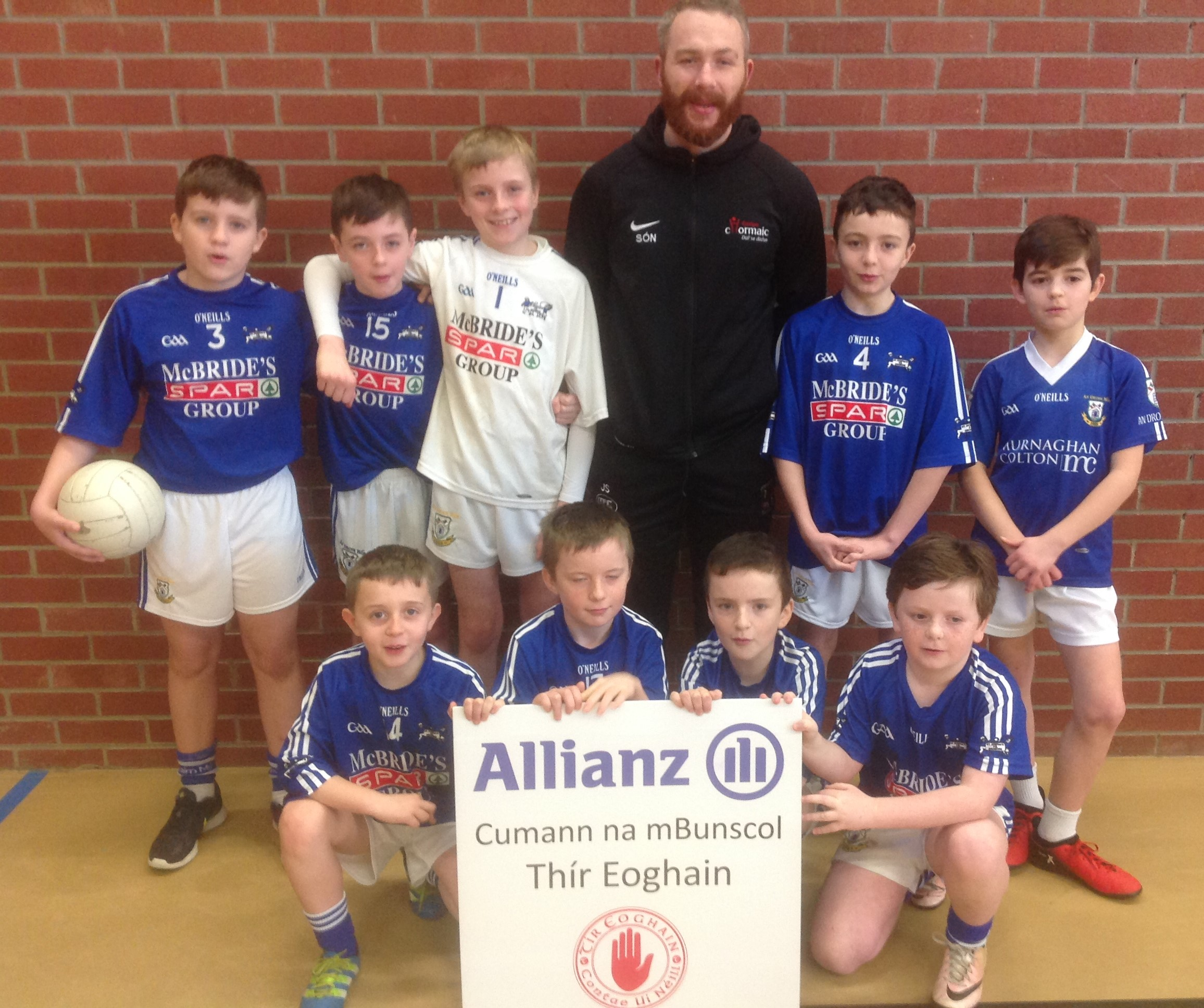ALLIANZ Cumann na mBunscol – BOYS' INDOOR FOOTBALL HEAT 4: OMAGH