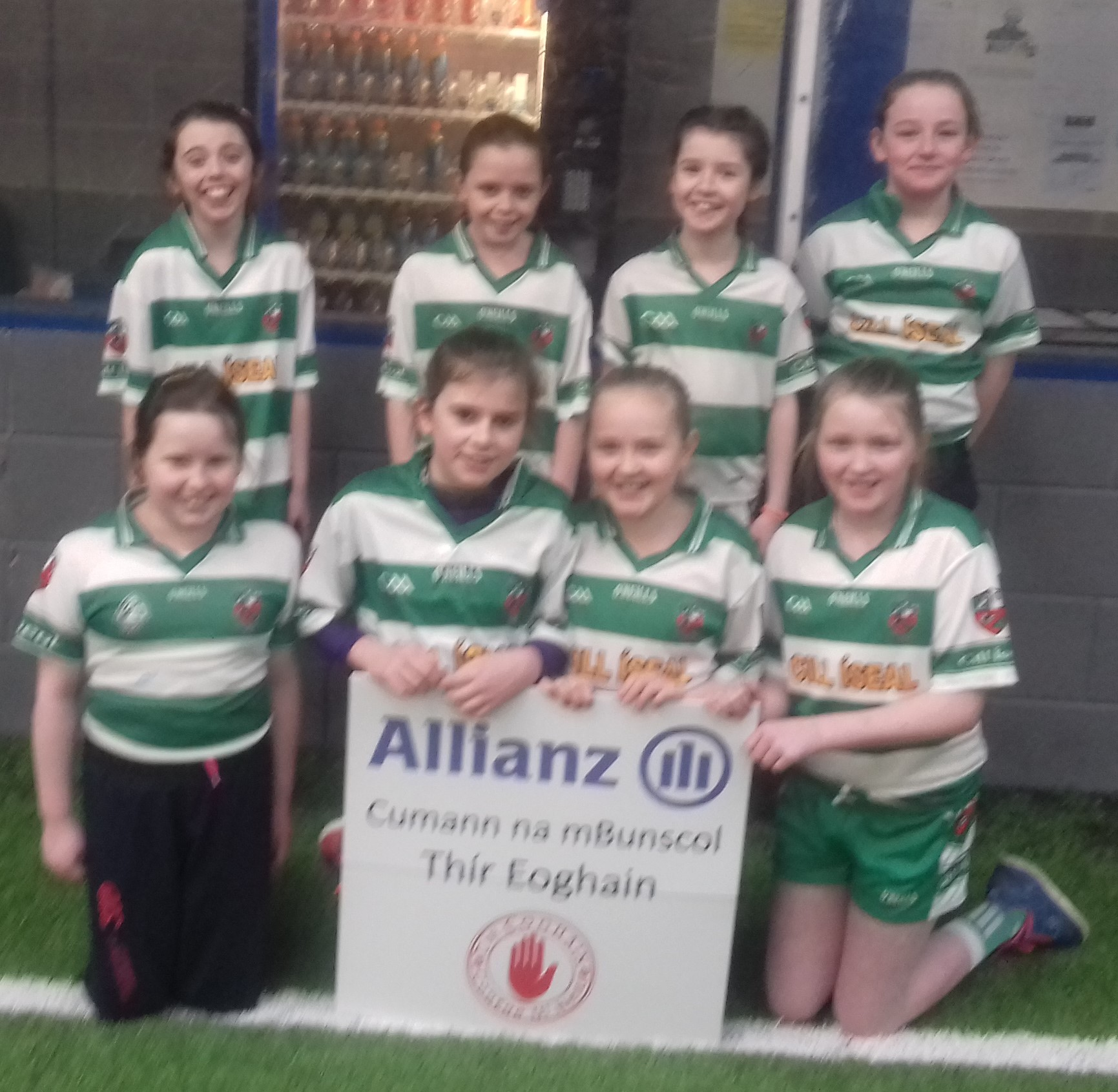 ALLIANZ CUMANN Na mBUNSCOL – GIRLS' INDOOR FOOTBALL HEAT 6: LOUGHVIEW