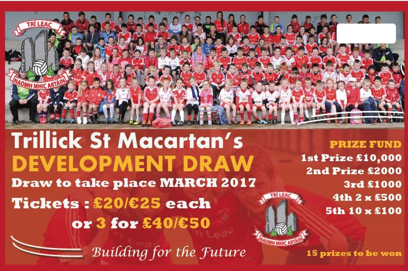 Trillick St. Macartan's Development Draw
