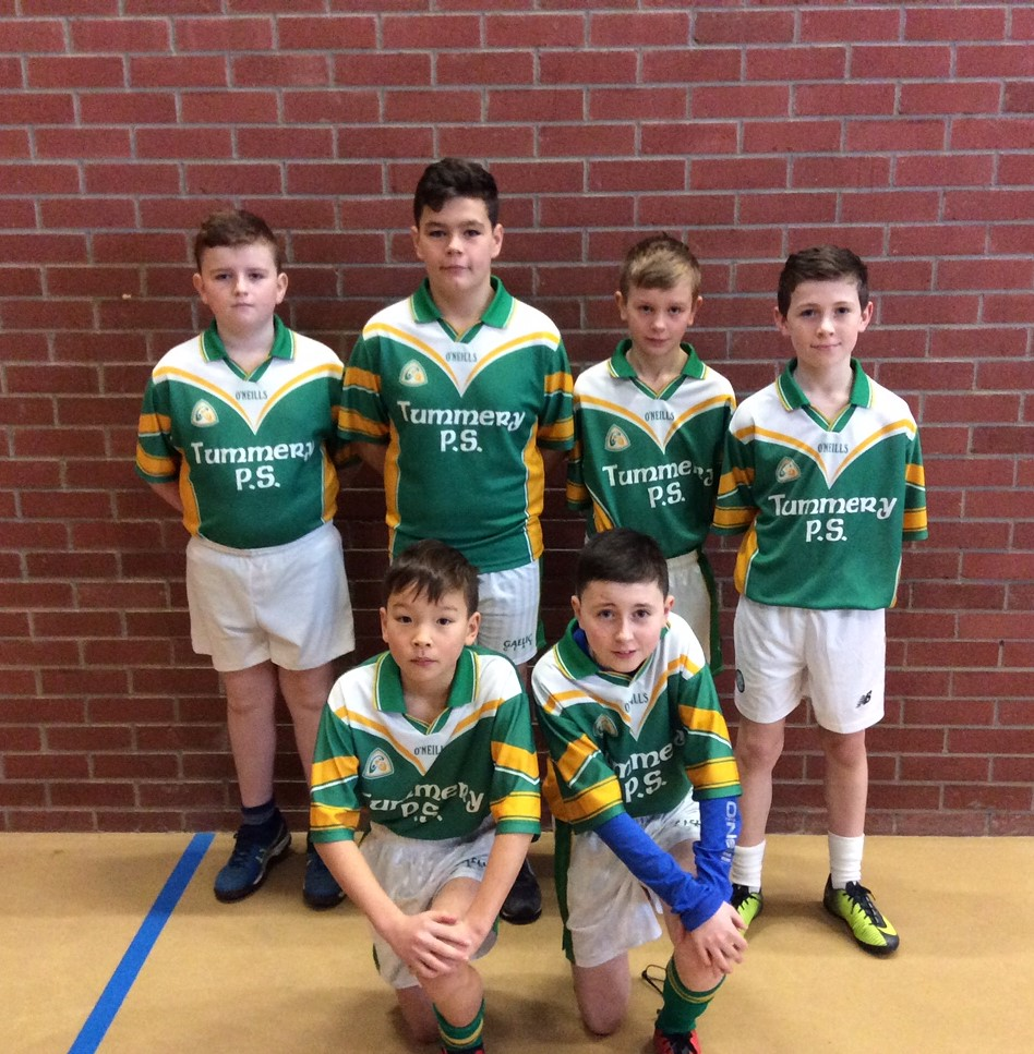 ALLIANZ Cumann na mBunscol – BOYS' INDOOR FOOTBALL HEAT 2: OMAGH
