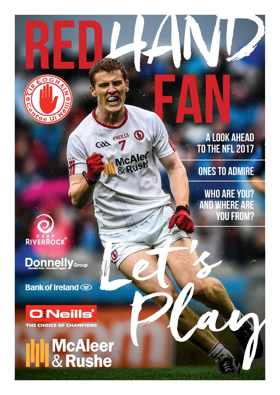 Red Hand Fan 2017