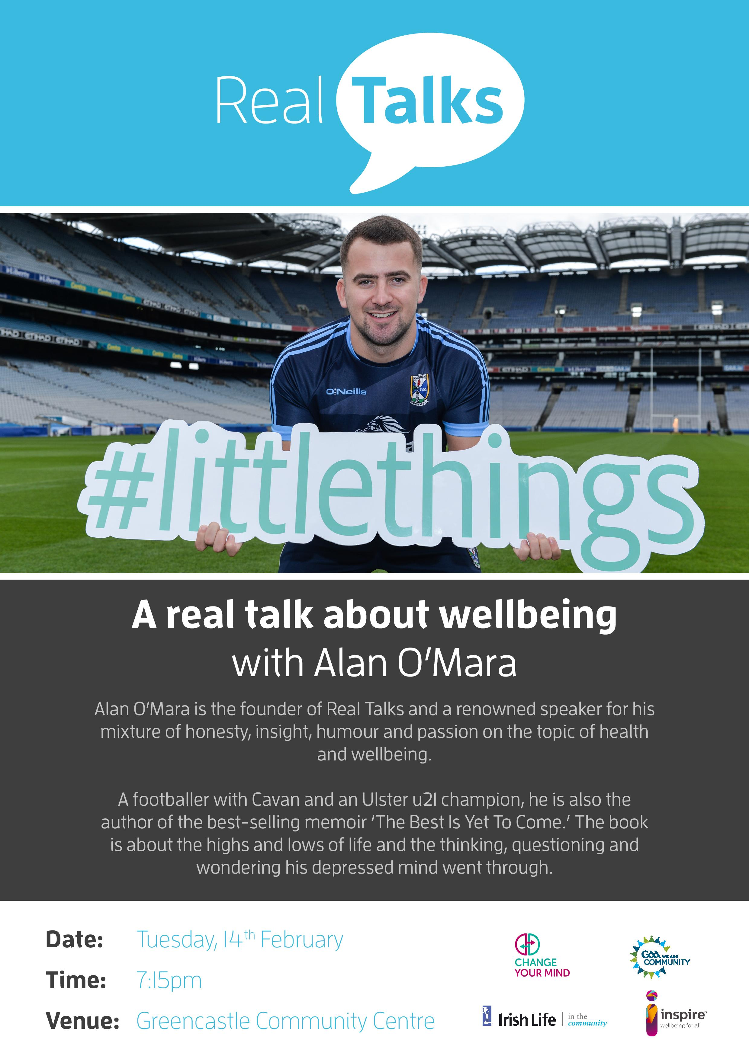 Real Talks with Alan O'Mara in Greencastle