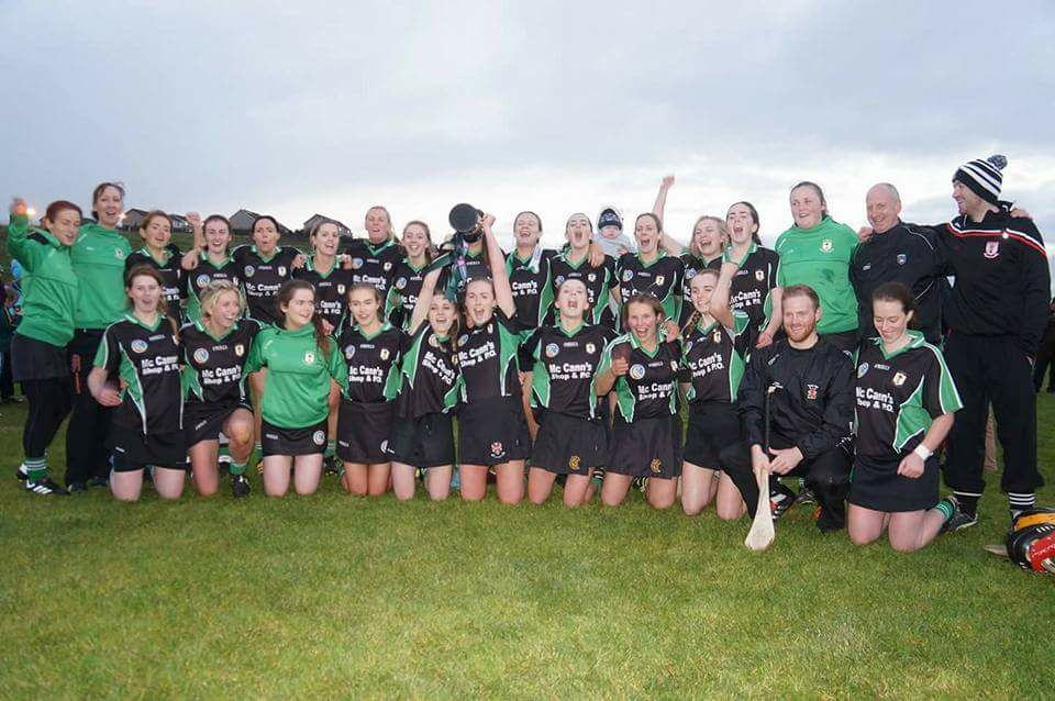Eglish Camogs in the All Ireland Final on Sunday