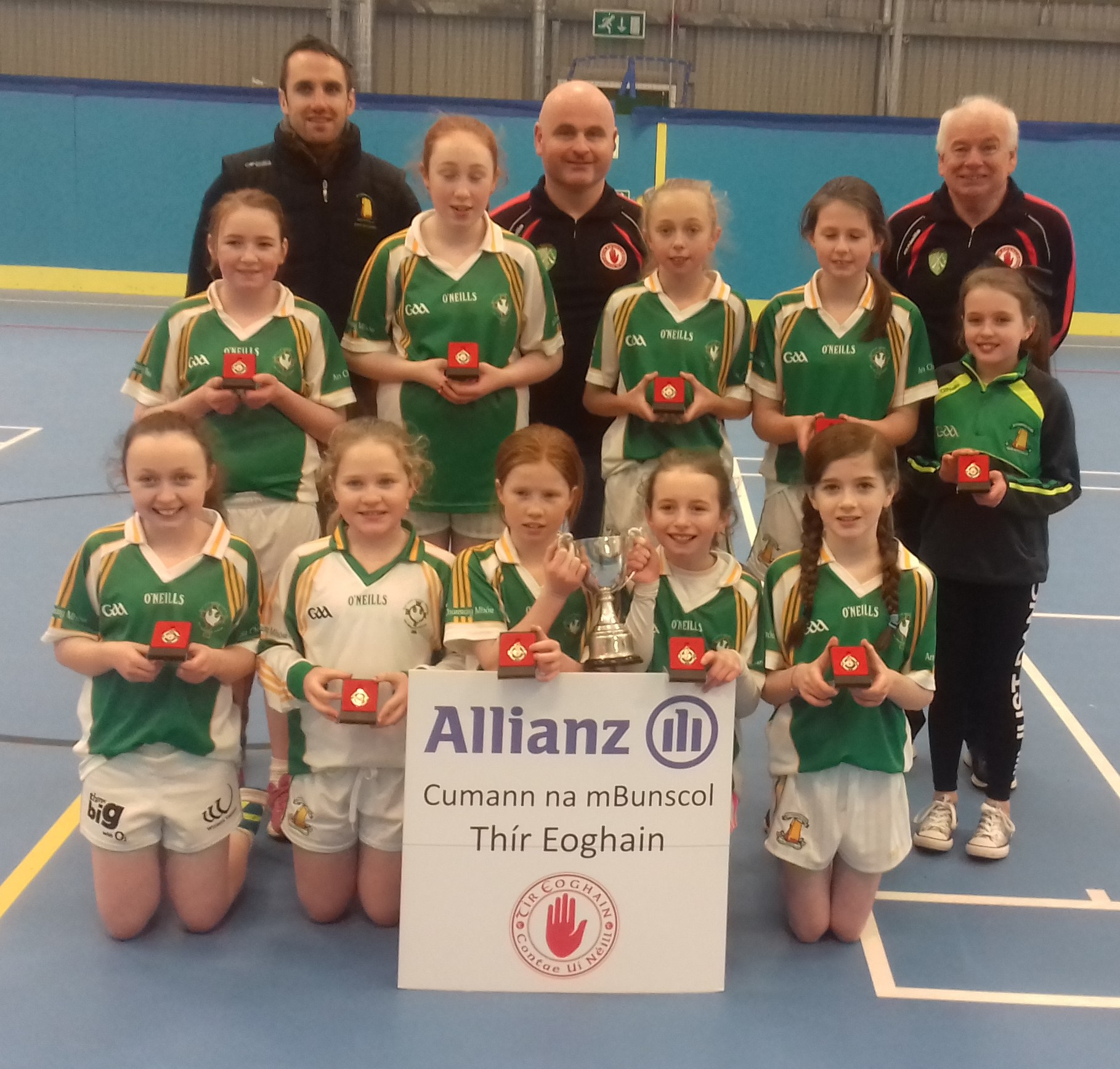 ALLIANZ CUMANN Na mBUNSCOL – GIRLS' INDOOR FOOTBALL: Tyrone Final 2017