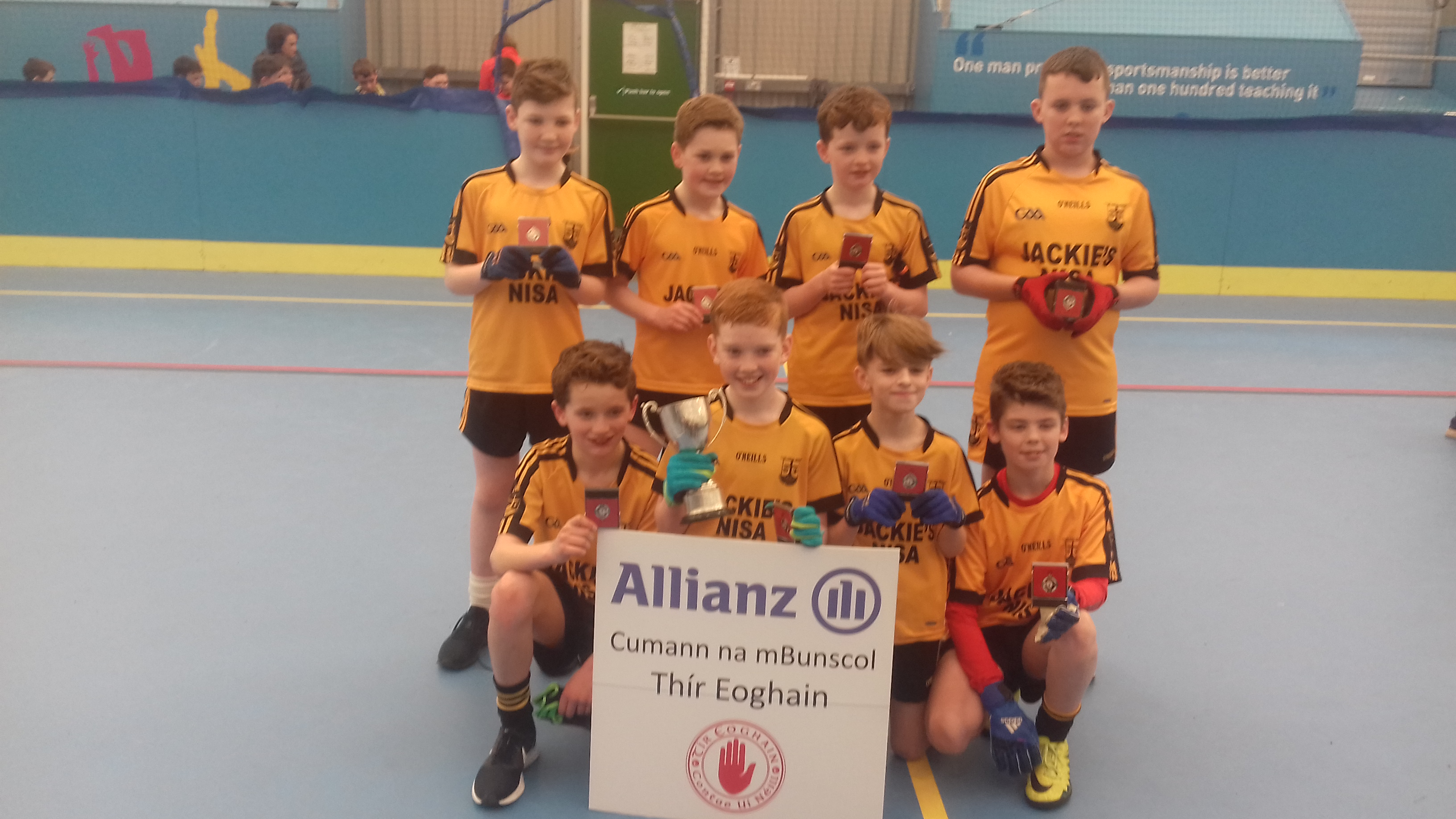 ALLIANZ CUMANN Na mBUNSCOL – BOYS' INDOOR FOOTBALL Tyrone Final 2017