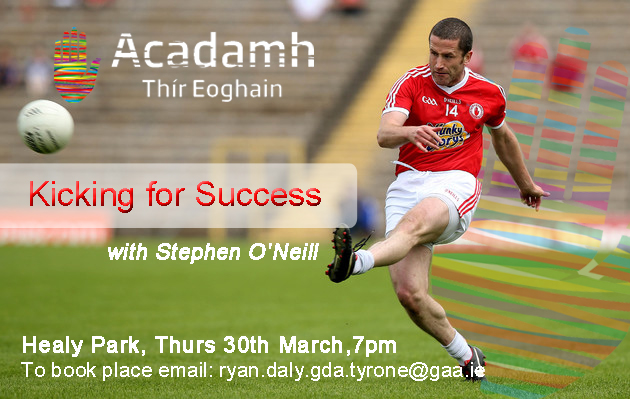 Coach Education: Kicking for Success with Stephen O'Neill
