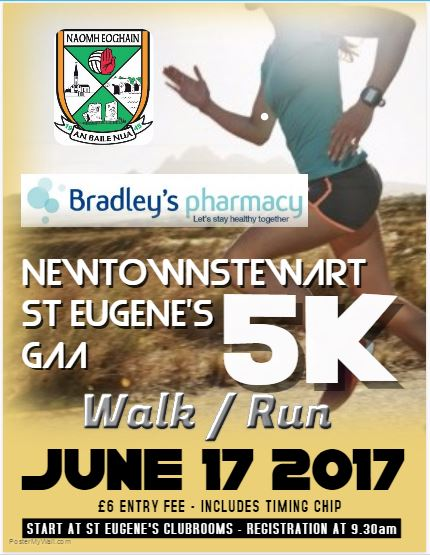 Newtownstewart St Eugene's 5K – 17th June