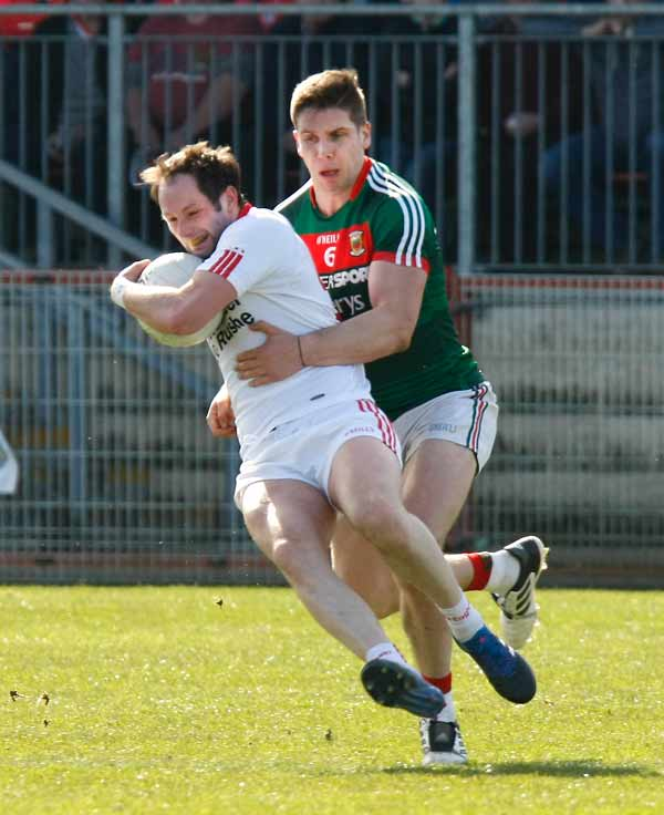 Seniors suffer home defeat to Mayo