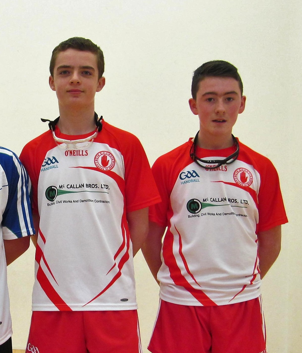 wholesale dealer 7a26e 9a431 Ulster U14 doubles champions Jonathan Owens and Jack Darcy ...