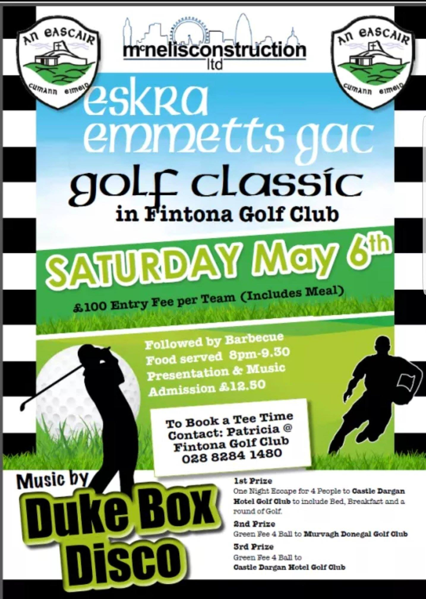 Eskra Emmetts Golf Classic Saturday 6th May