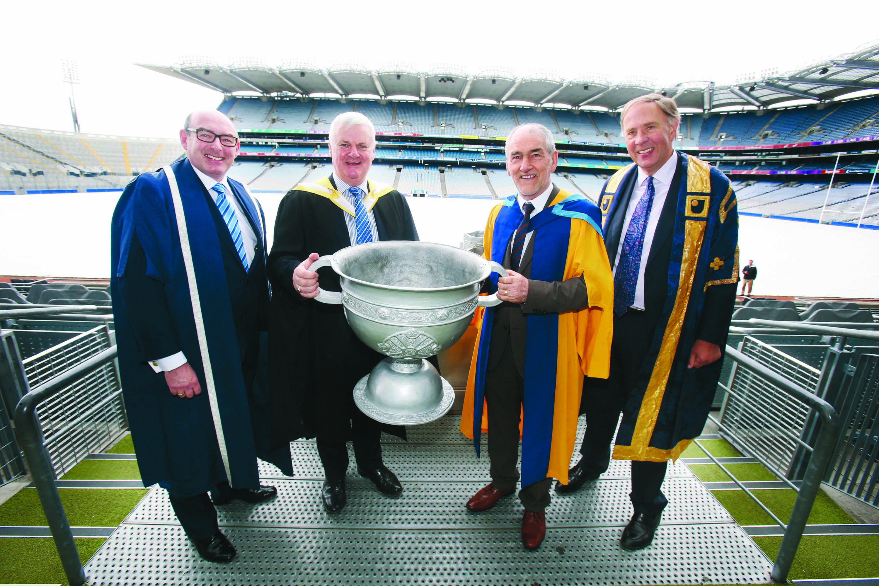 Open University honours Mickey Harte